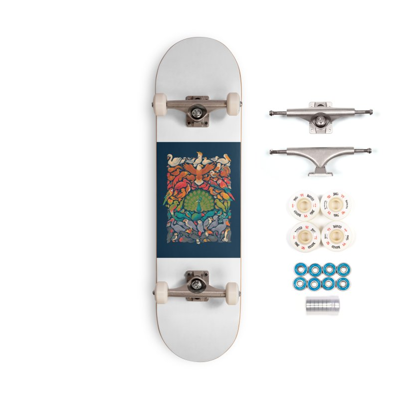 Aerial Spectrum Accessories Complete - Premium Skateboard by Waynem