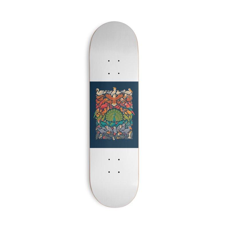 Aerial Spectrum Accessories Deck Only Skateboard by Waynem