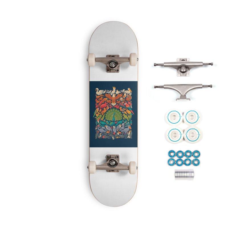 Aerial Spectrum Accessories Complete - Basic Skateboard by Waynem