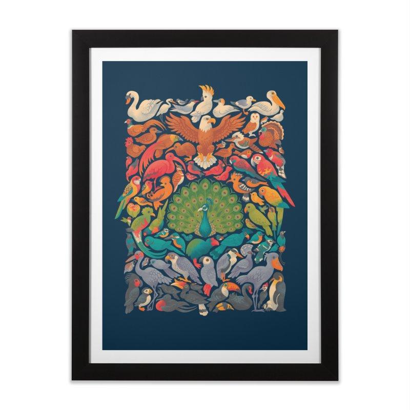 Aerial Spectrum Home Framed Fine Art Print by Waynem