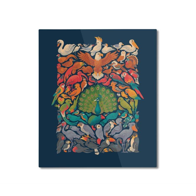 Aerial Spectrum Home Mounted Aluminum Print by Waynem