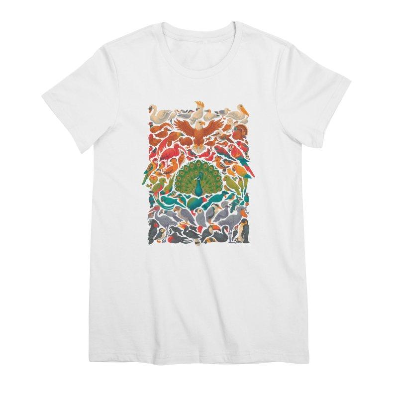 Aerial Spectrum Women's Premium T-Shirt by Waynem