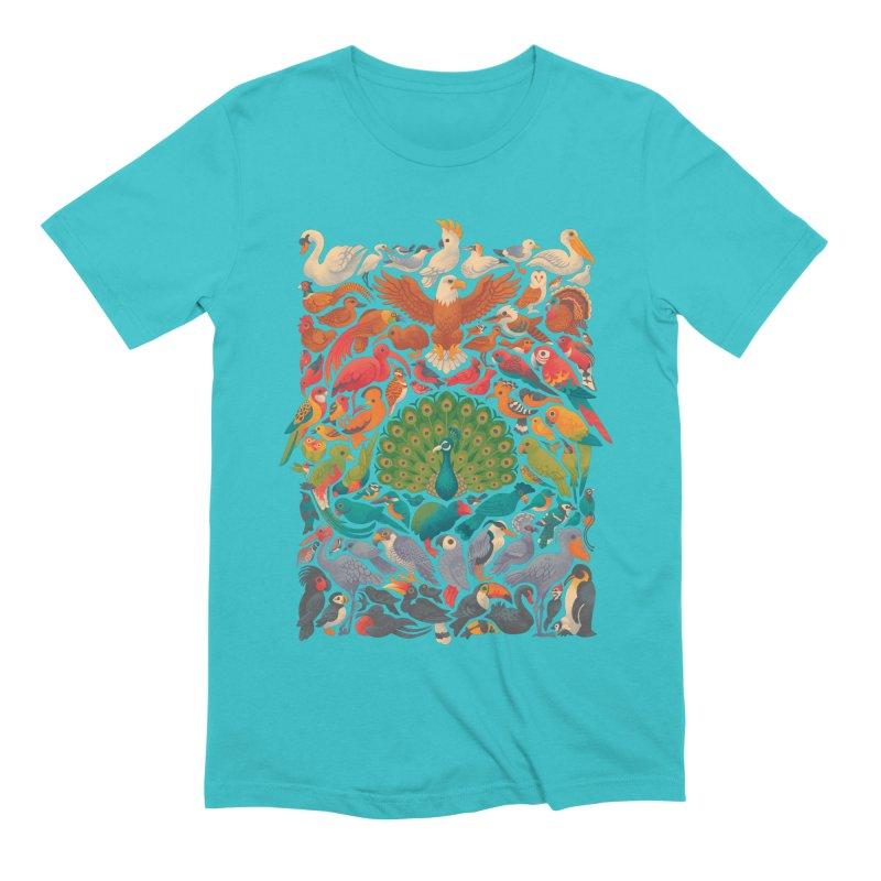 Aerial Spectrum Men's Extra Soft T-Shirt by Waynem