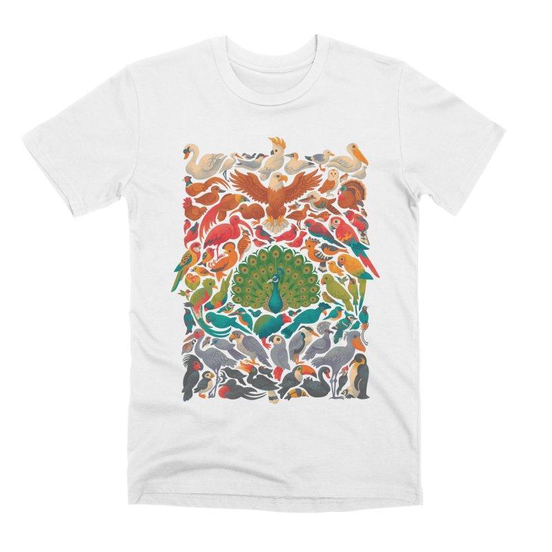 Aerial Spectrum Men's Premium T-Shirt by Waynem