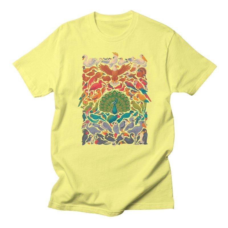 Aerial Spectrum Men's T-Shirt by Waynem
