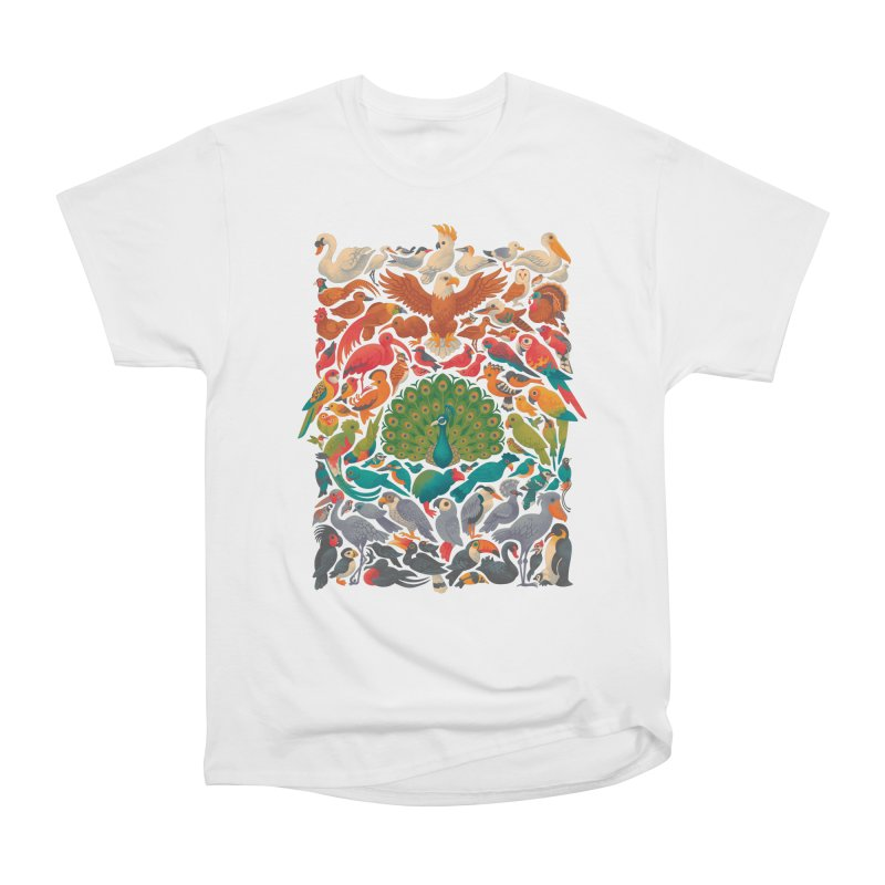 Aerial Spectrum Men's Heavyweight T-Shirt by Waynem
