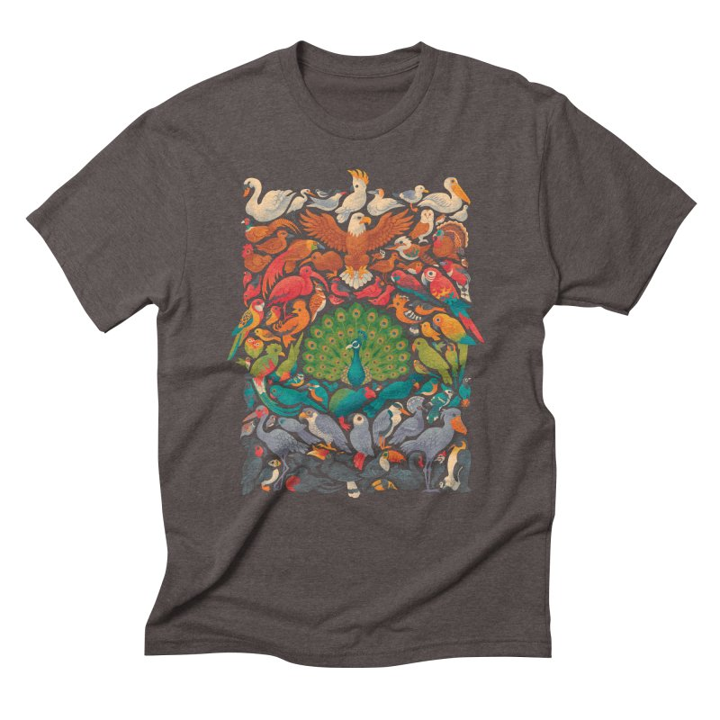 Aerial Spectrum Men's Triblend T-Shirt by Waynem