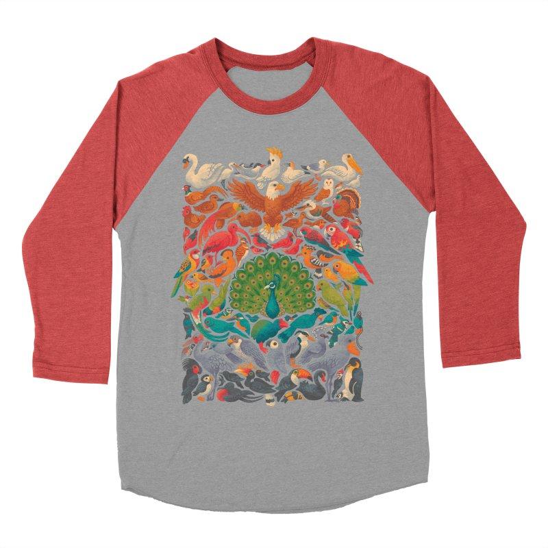 Aerial Spectrum Men's Baseball Triblend Longsleeve T-Shirt by Waynem