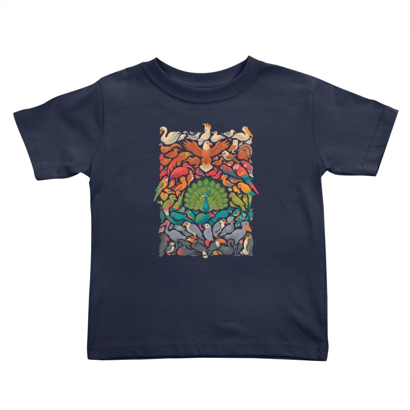 Aerial Spectrum Kids Toddler T-Shirt by Waynem