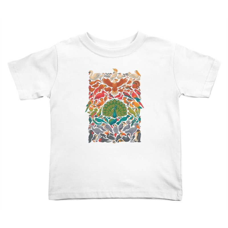 Aerial Spectrum Kids Toddler T-Shirt by Waynem