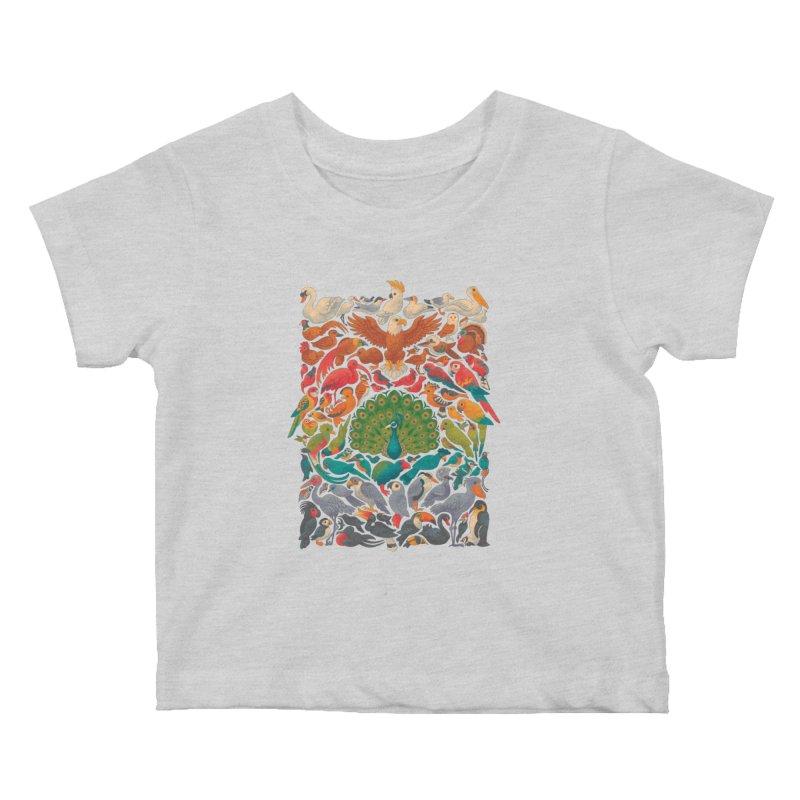 Aerial Spectrum Kids Baby T-Shirt by Waynem