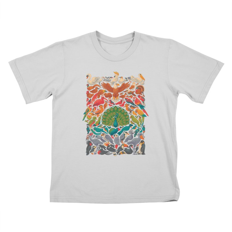 Aerial Spectrum Kids T-Shirt by Waynem