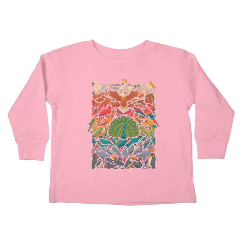 Aerial Spectrum Kids Toddler Longsleeve T-Shirt by Waynem