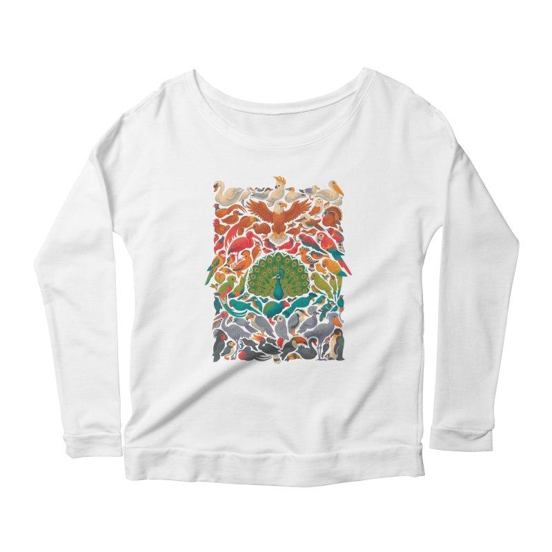 Aerial Spectrum Women's Scoop Neck Longsleeve T-Shirt by Waynem