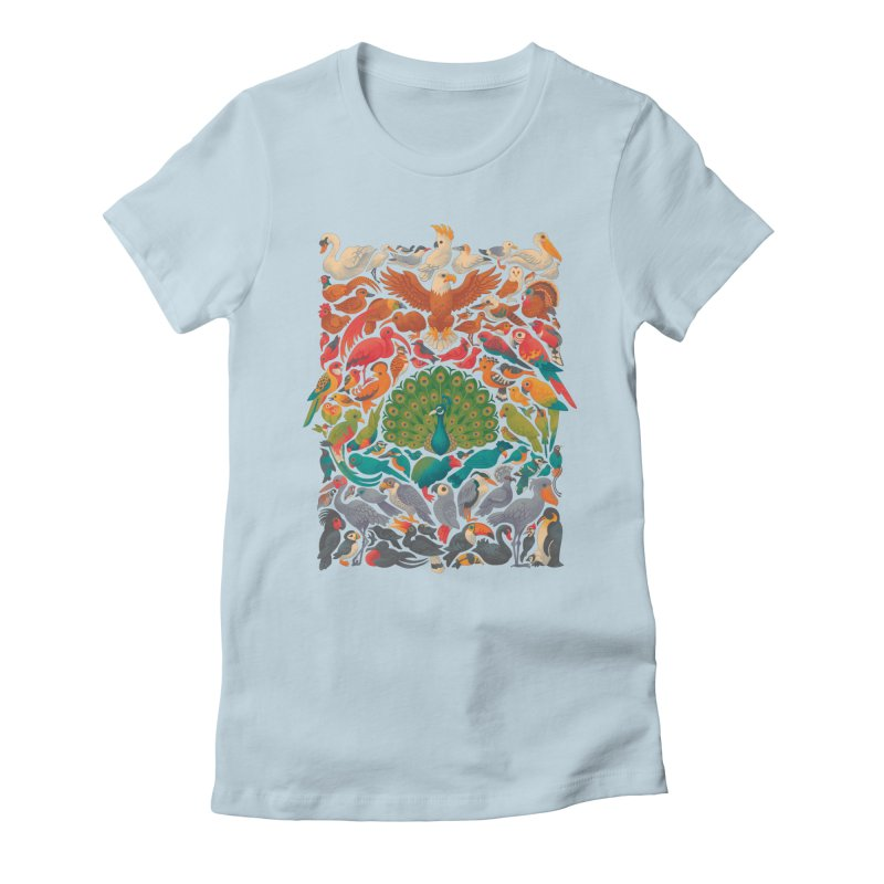 Aerial Spectrum Women's Fitted T-Shirt by Waynem