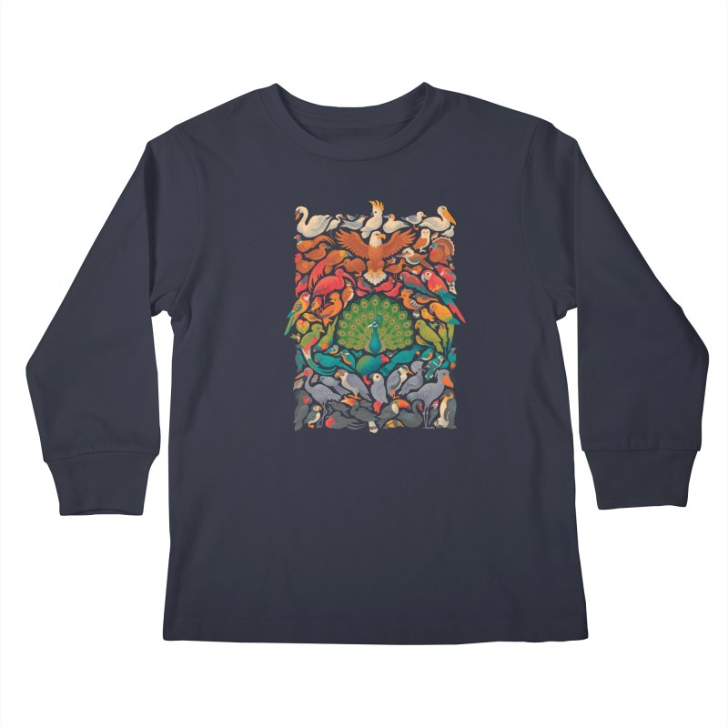 Aerial Spectrum Kids Longsleeve T-Shirt by Waynem