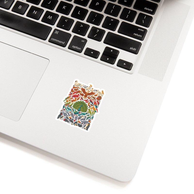 Aerial Spectrum Accessories Sticker by Waynem