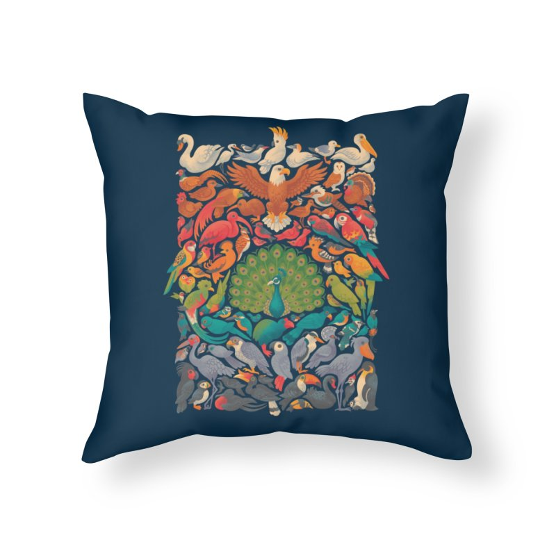 Aerial Spectrum Home Throw Pillow by Waynem