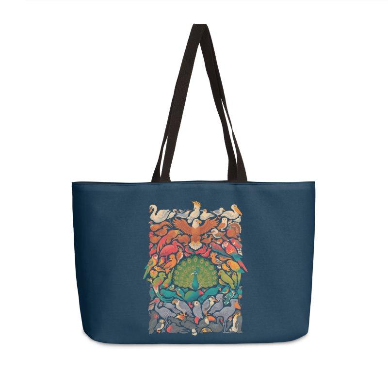 Aerial Spectrum Accessories Weekender Bag Bag by Waynem