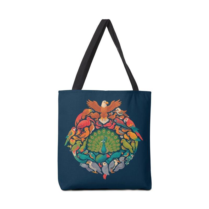 Aerial Rainbow Accessories Tote Bag Bag by Waynem