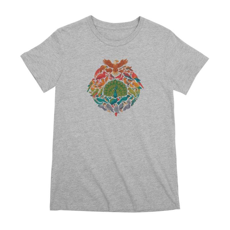 Aerial Rainbow Women's Premium T-Shirt by Waynem