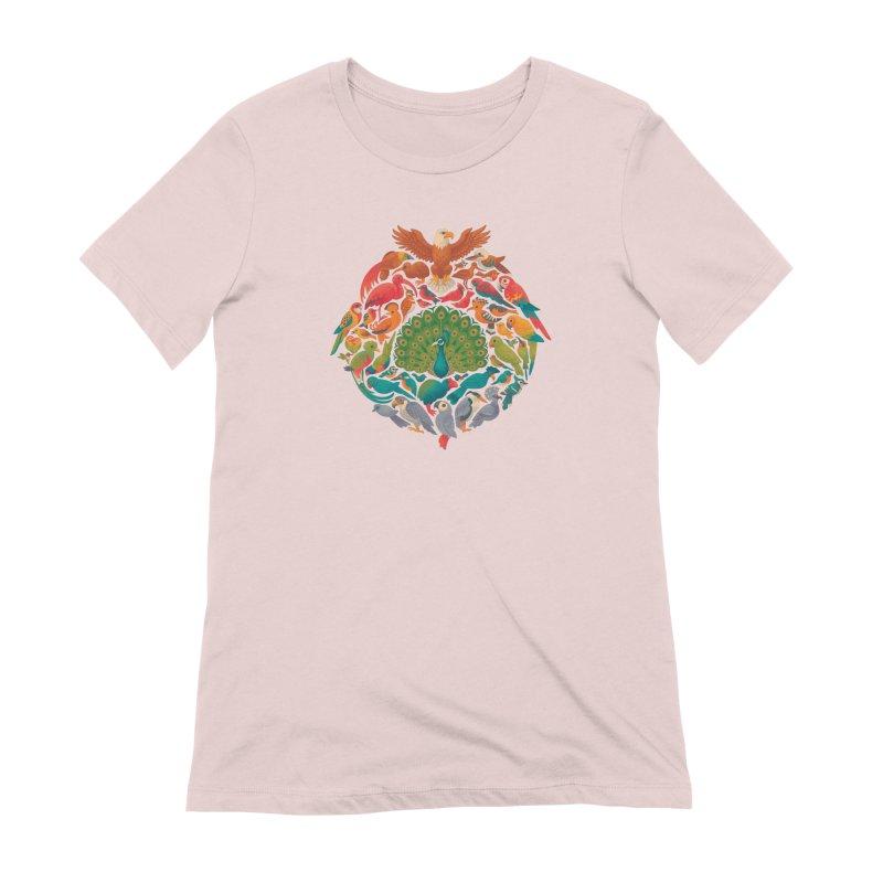 Aerial Rainbow Women's Extra Soft T-Shirt by Waynem