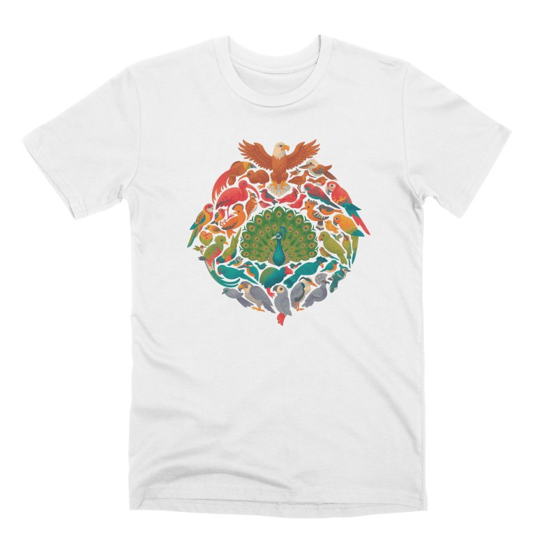 Aerial Rainbow Men's Premium T-Shirt by Waynem