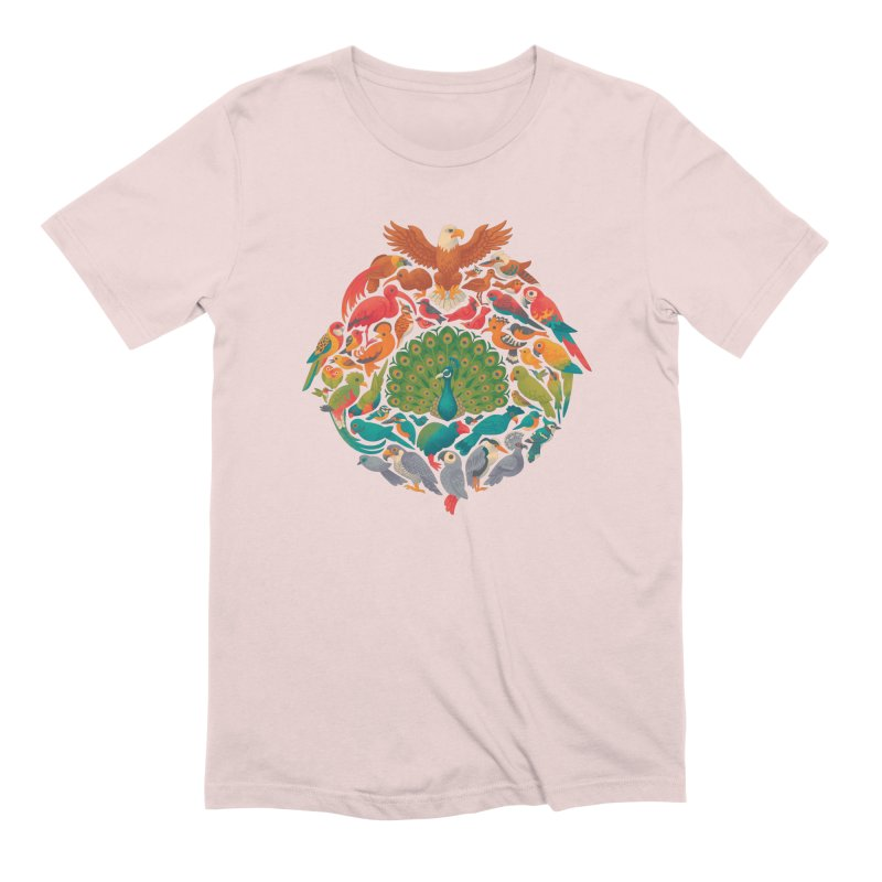 Aerial Rainbow Men's Extra Soft T-Shirt by Waynem