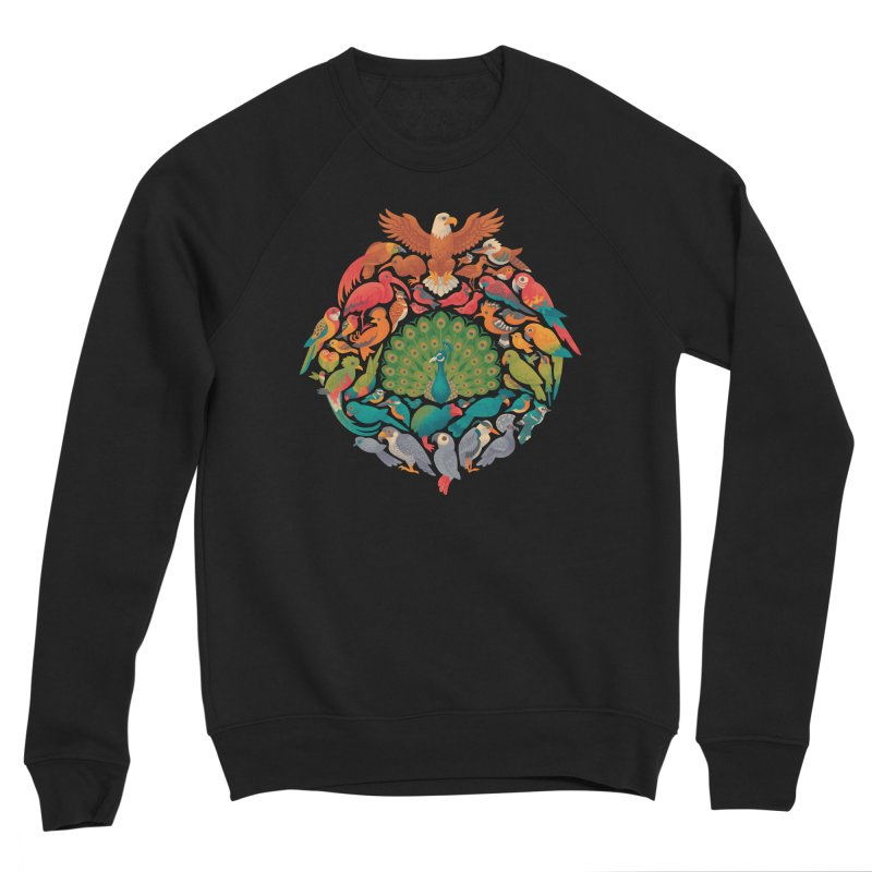 Aerial Rainbow Women's Sponge Fleece Sweatshirt by Waynem