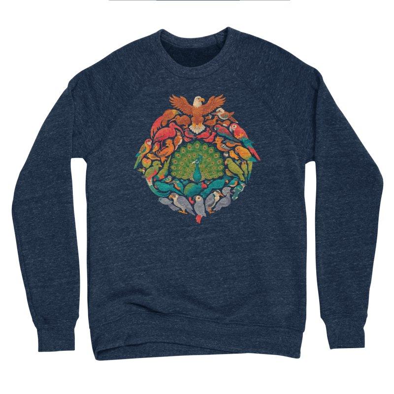 Aerial Rainbow Men's Sponge Fleece Sweatshirt by Waynem