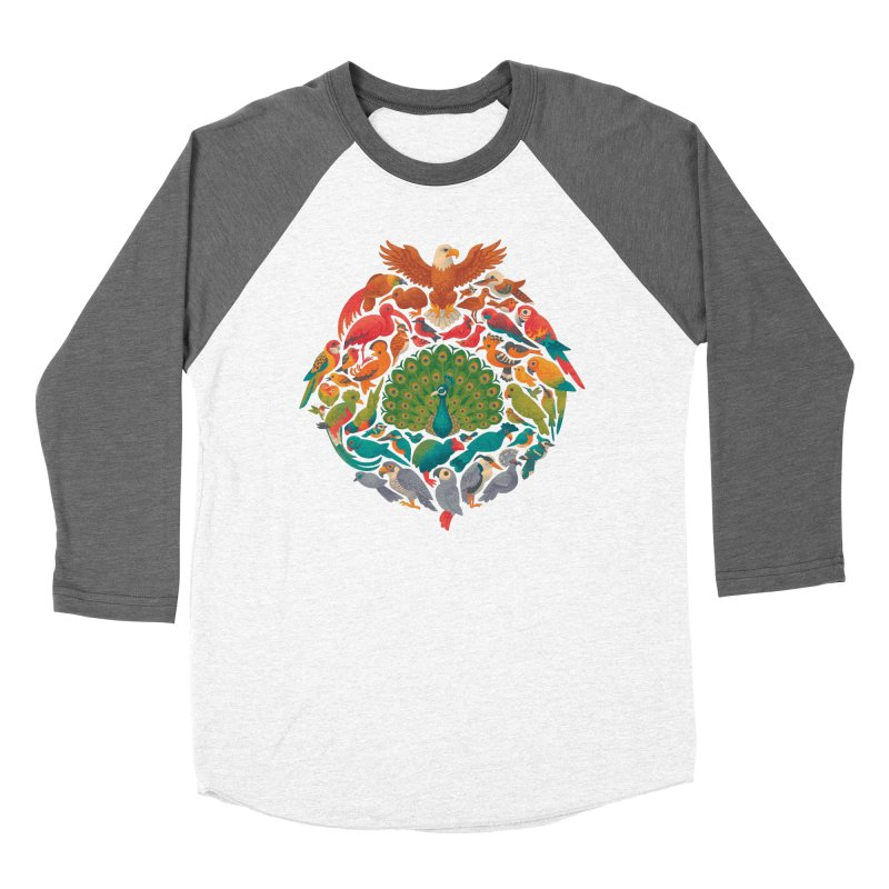 Aerial Rainbow Women's Longsleeve T-Shirt by Waynem