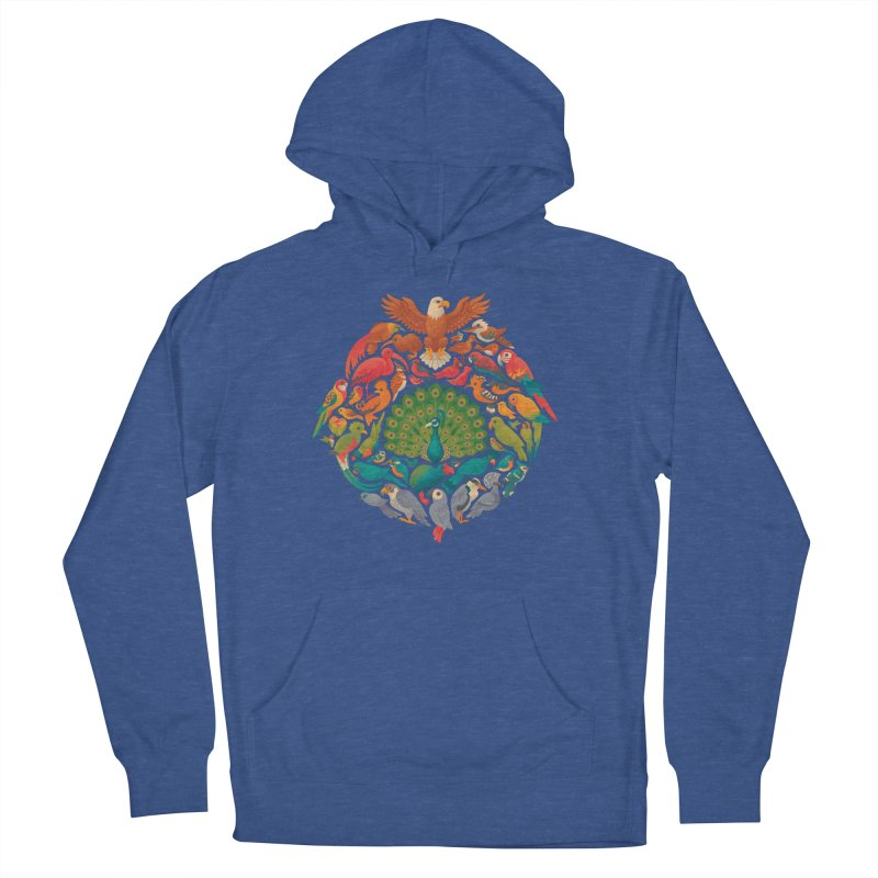 Aerial Rainbow Women's French Terry Pullover Hoody by Waynem