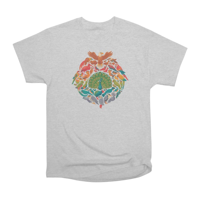 Aerial Rainbow Men's Heavyweight T-Shirt by Waynem