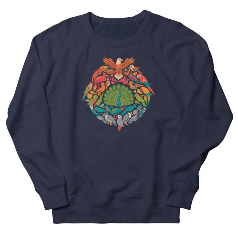 Aerial Rainbow Women's French Terry Sweatshirt by Waynem
