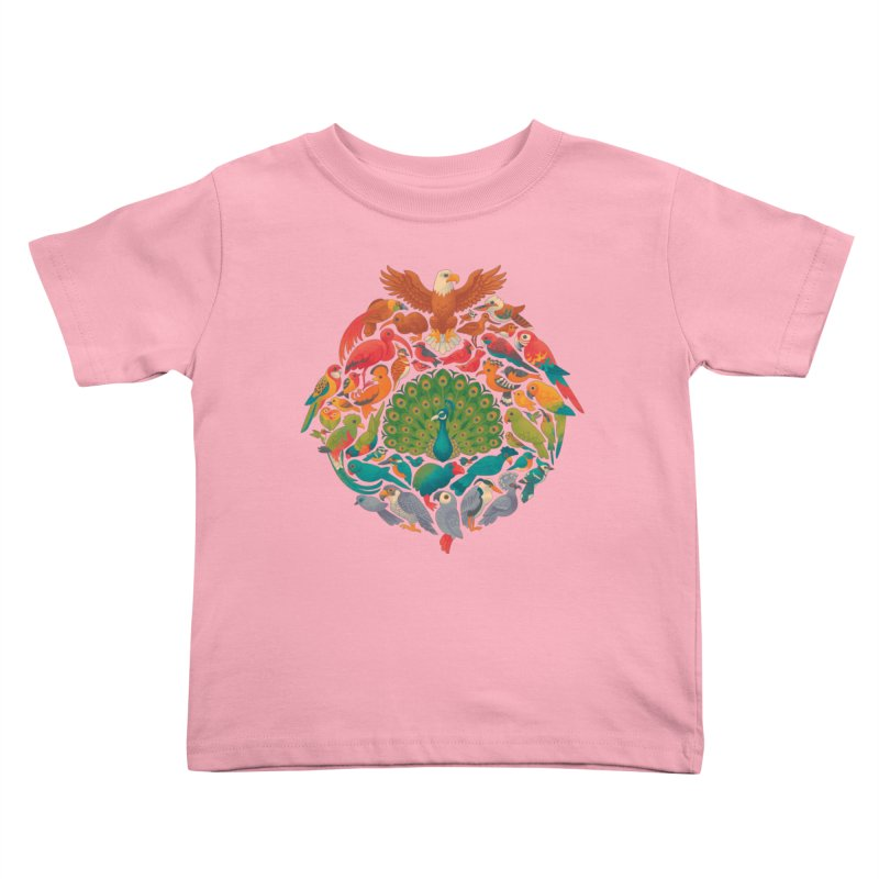 Aerial Rainbow Kids Toddler T-Shirt by Waynem