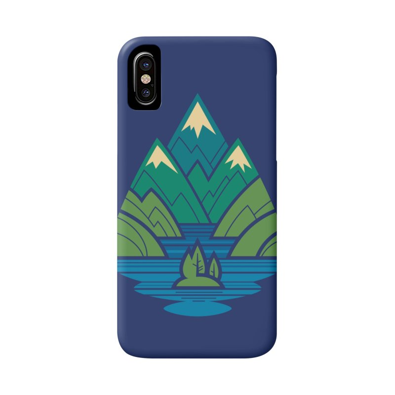 Mountain Lake Accessories Phone Case by Waynem