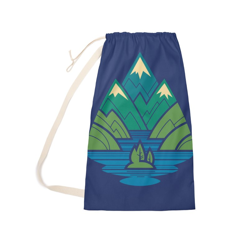 Mountain Lake Accessories Laundry Bag Bag by Waynem