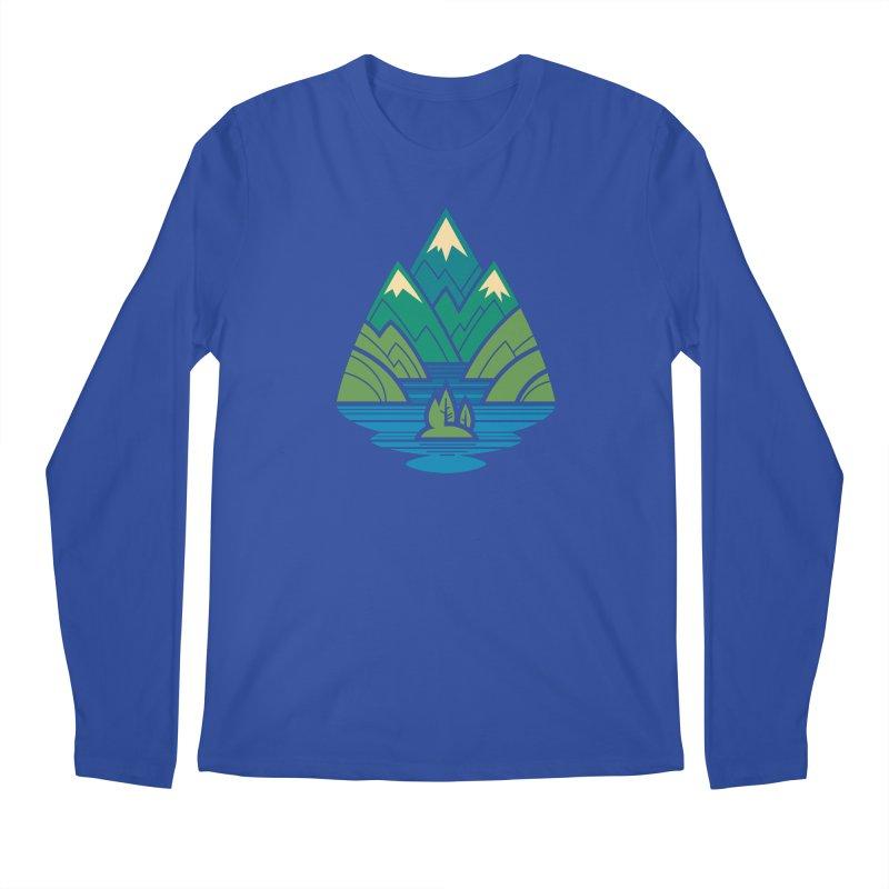 Mountain Lake Men's Regular Longsleeve T-Shirt by Waynem