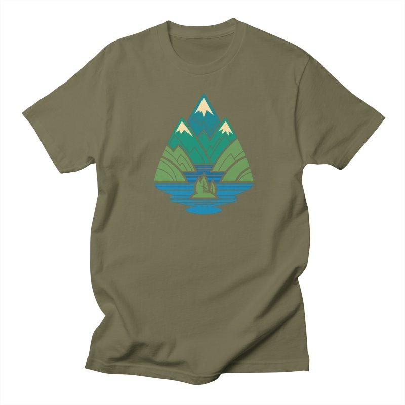Mountain Lake Women's Regular Unisex T-Shirt by Waynem