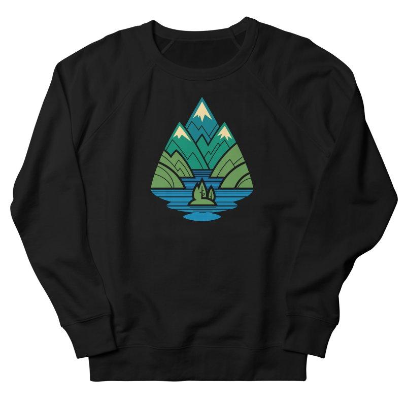 Mountain Lake Women's French Terry Sweatshirt by Waynem