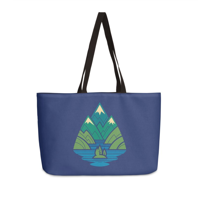 Mountain Lake Accessories Weekender Bag Bag by Waynem