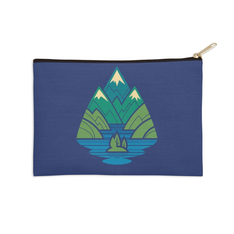 Mountain Lake Accessories Zip Pouch by Waynem