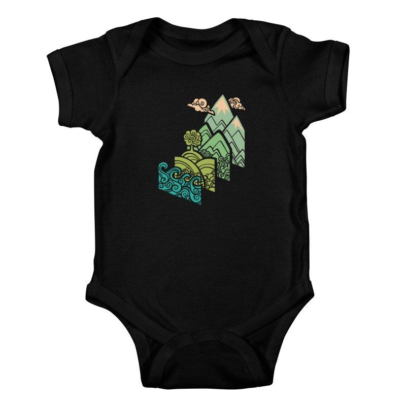How to Build a Landscape Kids Baby Bodysuit by Waynem