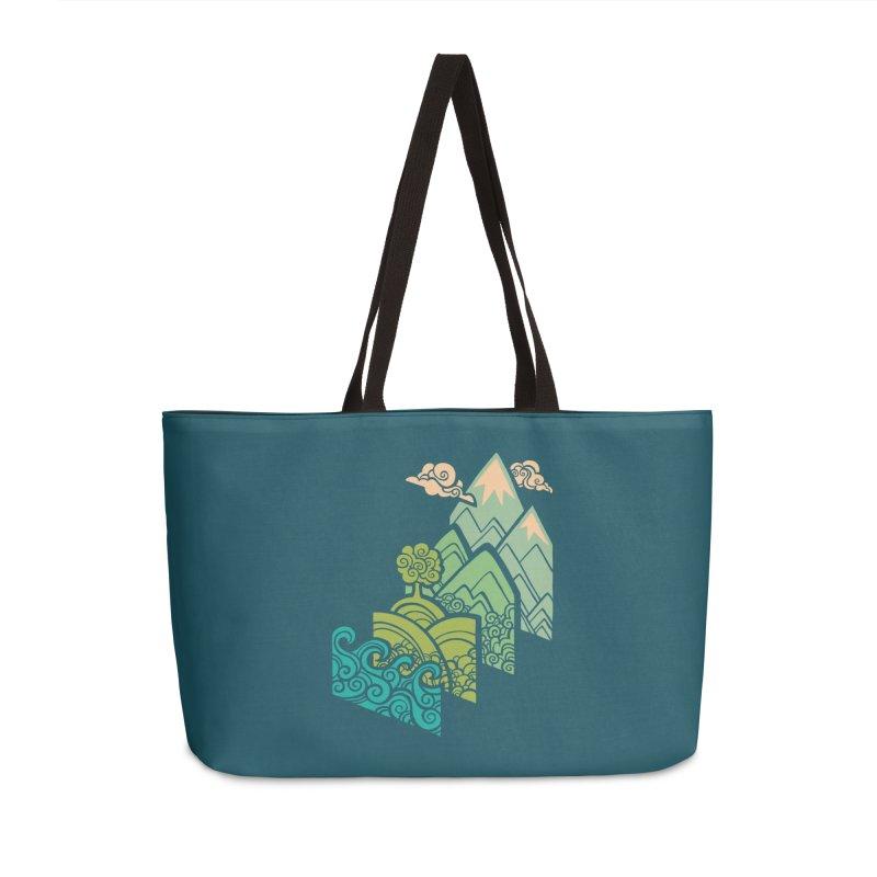 How to Build a Landscape Accessories Weekender Bag Bag by Waynem