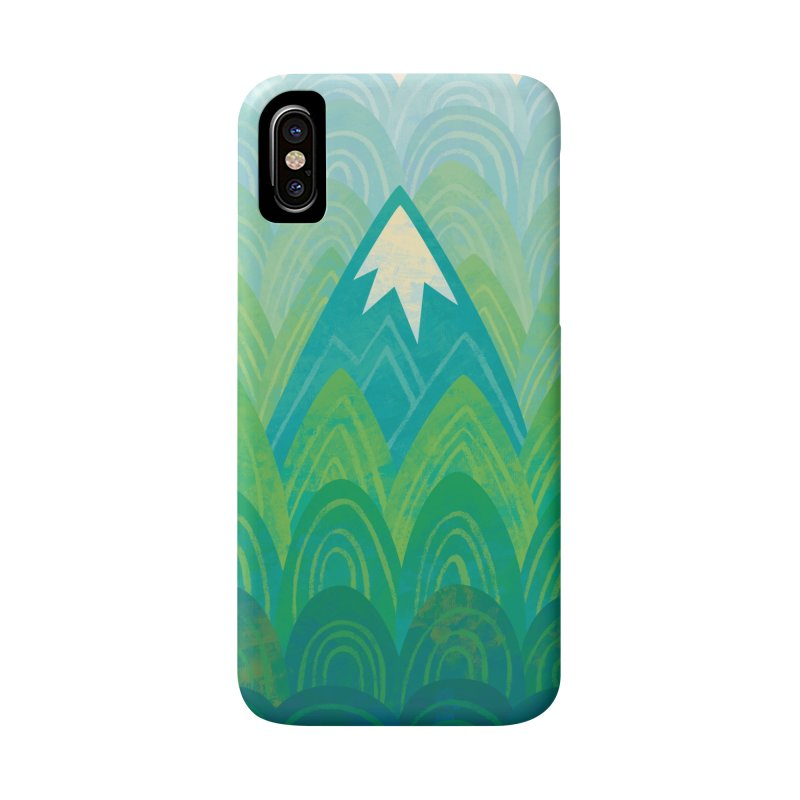 Towering Mountain Accessories Phone Case by Waynem