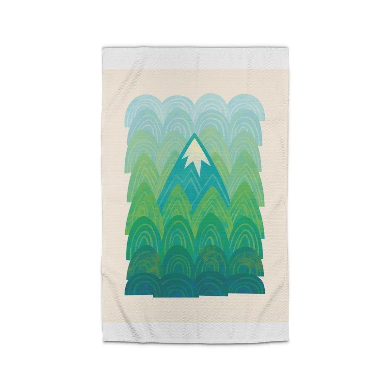 Towering Mountain Home Rug by Waynem