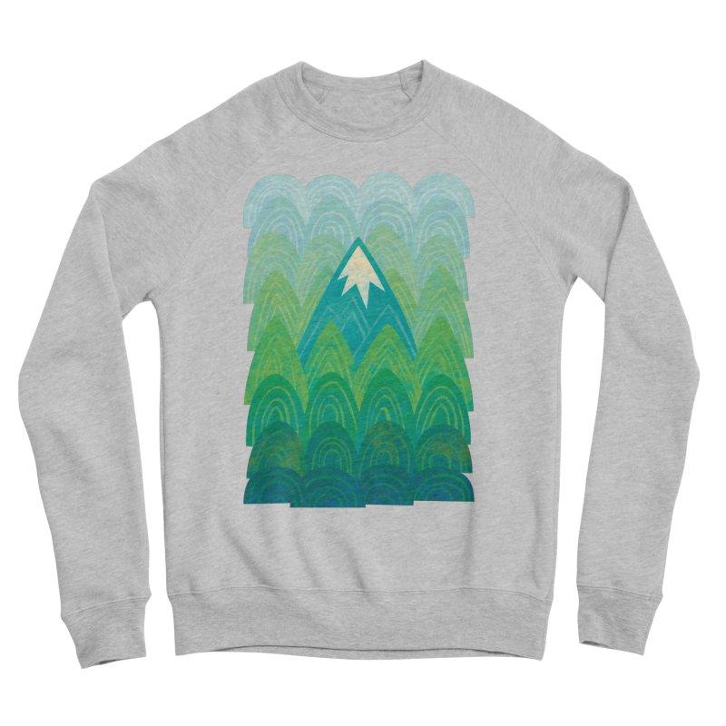 Towering Mountain Men's Sponge Fleece Sweatshirt by Waynem