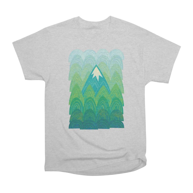 Towering Mountain Women's Heavyweight Unisex T-Shirt by Waynem
