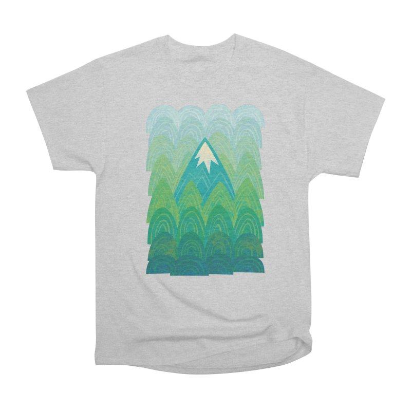 Towering Mountain Men's Heavyweight T-Shirt by Waynem
