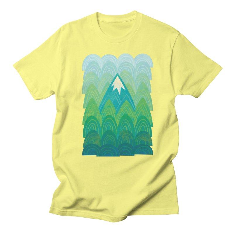 Towering Mountain Women's Regular Unisex T-Shirt by Waynem